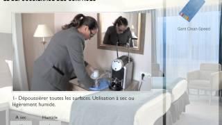 Download Nettoyage d'une chambre - Hôtel 4 étoiles Video