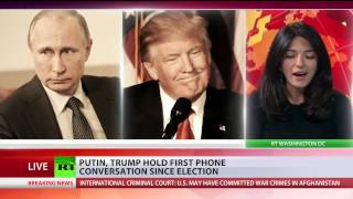 Download Putin, Trump hold first phone conversation since election Video