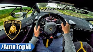 Download LAMBORGHINI HURACAN PERFORMANTE LP640-4 POV Test Drive by AutoTopNL Video