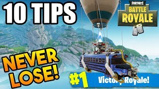 Download How to WIN EVERY TIME! - Fortnite Battle Royale! 10 Pro Tips to WIN! (Fortnite Battle Royale) Video