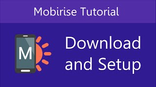 Download Mobirise Download & Setup | Video 1 of 27 Video