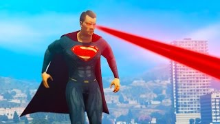Download GTA 5 Mods - ULTIMATE SUPERMAN MOD! (GTA 5 Funny Moments) Video