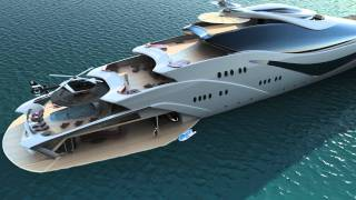 Download Luxurious yacht PROJECT MAGNITUDE by Opalinski designs Video