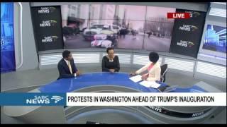 Download Riots in Washington ahead of Trump's inauguration Video