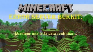 Download [Tutorial Minecraft] Arreglar error: -Presione una tecla para continuar- [Servers Bukkit] Video