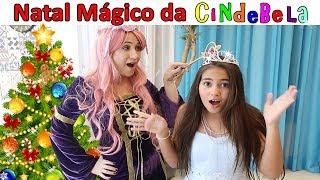 Download Natal Mágico da CINDEBELA - Historinha da Bela Bagunça, Princesa Cinderela em Portugues Video