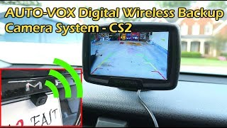 Download AUTO-VOX Digital Wireless Backup Camera CS2 Video