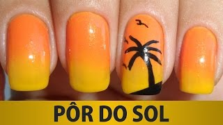 Download Unhas Decoradas - Pôr do Sol Video