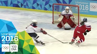 Download Ice Hockey - Women's Preliminaries - CZE vs SVK | Lillehammer 2016 Youth Olympic Games Video