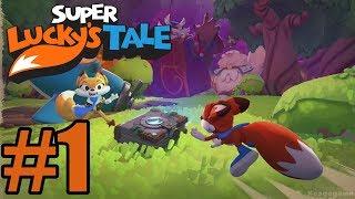 Download Super Lucky's Tale Gameplay Walkthrough Part 1 Video