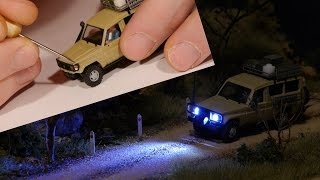 Download How-To Add Lights to HO scale vehicles - Model Railroad Video