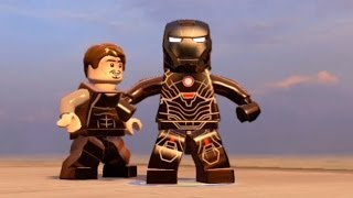 Download LEGO Marvel's Avengers - All Iron Man Characters | Tony Stark Transformations | Free Roam [HD 1080p] Video