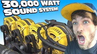 Download 30,000 Watts ON BLAST w/ 5 Alternators!!! Multiple 18″ Subwoofers | Extreme Car Audio SUBWOOFER BASS Video