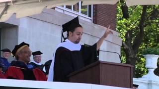 Download Lin-Manuel Miranda's 2015 Commencement Address Video