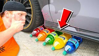 Download CRUSHING SODA WITH MY CAR! CRUNCHY, SOFT, SQUISHY AND MORE! Video