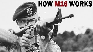 Download How M16 Rifle Works | XM16E1 | US Army Training Film | 1966 Video