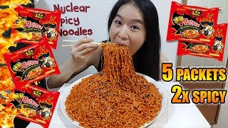 Download NUCLEAR FIRE NOODLES CHALLENGE • Mukbang • Eating Show Video