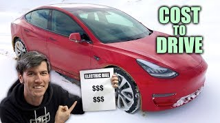 Download Why Electric Cars Are So Cheap To Drive - My Tesla Model 3 Electric Bill Video