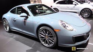 Download 2017 Porsche 911 Carrera 4 - Exterior and Interior Walkaround - 2016 New York Auto Show Video