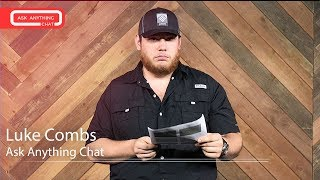 Download Luke Combs Talks About Not Having A Tattoo, His Rap Name & His Voice Warm Ups. Final Part Video