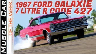 Download 1967 Ford Galaxie 7-Litre R Code 427 Muscle Car Of The Week Video Episode 318 Video