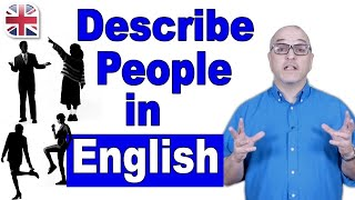 Download How to Describe a Person in English - Spoken English Lesson Video