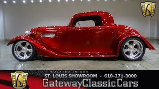Download 1933 Factory Five Roadster for sale at Gateway Classic Cars STL Video