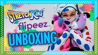 Download STRETCHKINS pehmolelu ja kaksi FLIPEEZ hattua   Twister Ninja unboxaa! Video