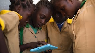 Download Displaced children in Cameroon go online for the first time Video