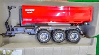 Download RC tractor hook lift trailer gets unboxed and dirty for the first time! Video