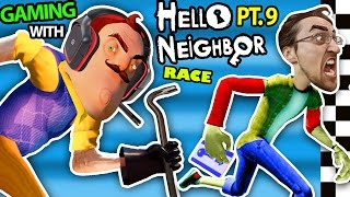 Download HELLO NEIGHBOR vs. ME! BASEMENT RACE CHALLENGE IRL GAMING! Alpha 3 SECRETS REVEALED? (FGTEEV Part 9) Video
