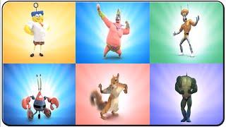 Download Spongebob Heropants All Characters Video