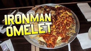 Download BROKEN YOLK BREAKFAST OMELET CHALLENGE!! Video