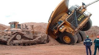 Download World Dangerous Dump Truck Operator Skill - Biggest Heavy Equipment Machines Working Video