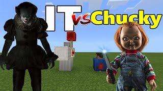 Download IT vs Chucky | Minecraft PE Video
