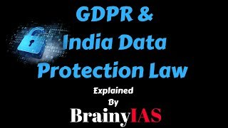 Download GDPR and India data protection law | The hindu Editorial Decode | 29-03-2018 Video