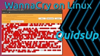 Download WannaCry on Linux. Oh It Escaped Wine Video