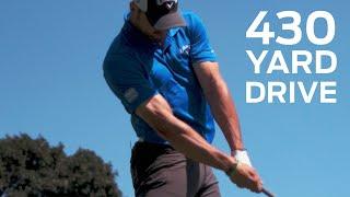 Download Long Drive Champ Hits the Green on 430-Yard Par 4 | Golf Assassins Video