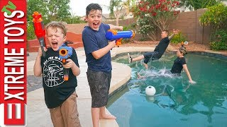 Download Sneak Attack Squad has Fun Home Alone Nerf Action! Video