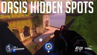 Download Overwatch Oasis [Widowmaker Hiddent Spots] Video
