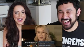 Download Pornstars Read Their DMs! REACTION & DISCUSSION!!! Video
