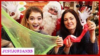Download Santa's Bag Slime Making! / JustJordan33 Video