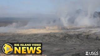Download Timelapse Recording Shows Small Volcano Collapse (Mar. 6, 2018) Video