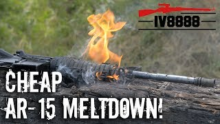 Download Cheap AR-15 Meltdown! Video