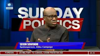 Download Segun Sowunmi Explains Why Atiku Shed Tears Over Issues On Ambition Video