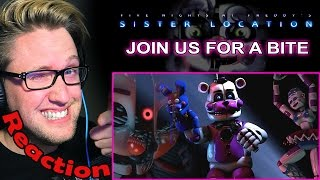 Download ″Join Us For A Bite″ - FNAF SISTER LOCATION Song by JT Machinima REACTION! | HYPE! | Video