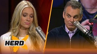 Download Colin fires back at his harshest Twitter critics | THE HERD Video