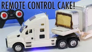 Download REMOTE CONTROL TRUCK CAKE - How to make a Moving RC Truck CAKE - YouTube Video