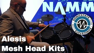 Download NAMM 2018 Alesis Affordable Mesh head Kits Video