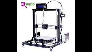 Download FLSUN Prusa I3 3D Printer Video
